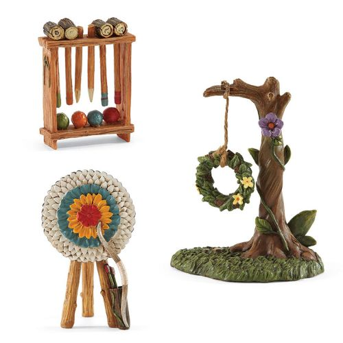 Enchanted Guardians Fairy Garden Play Set Accessories